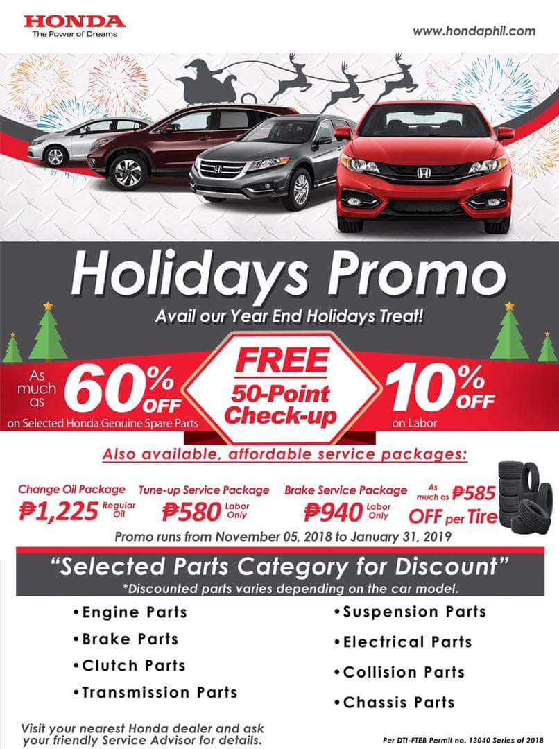 The Official Website Of Honda Cars Kalookan Inc 2005 Crv Parts Discount Factory Oem And Holiday Promo
