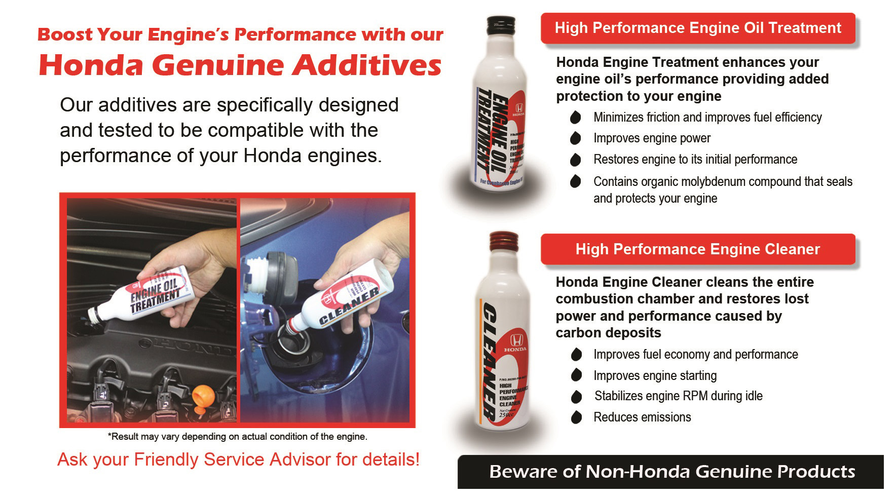 Honda Genuine Additives